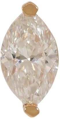 Marquis Solitaire Diamond Stud