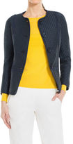 Max Studio by Leon Max Textured Check Jacket