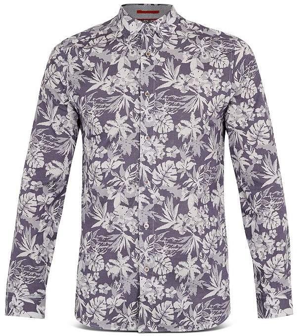38b22ec2 Ted Baker Floral Shirt - ShopStyle