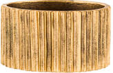 Oscar de la Renta Ridged Cuff Bracelet