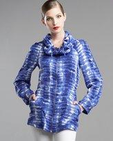 Abstract-Print Jacket