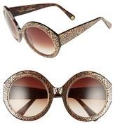 Oscar de la Renta 54mm Round Sunglasses