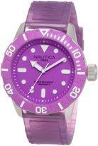 Nautica Women's NSR 100 N09606G Resin Quartz Watch with Dial