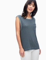 Splendid French Stripe Muscle Tank