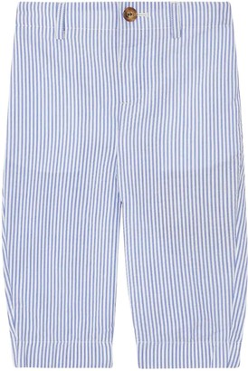 Burberry Blue Striped Trousers