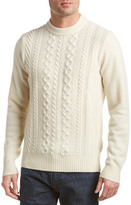 Ben Sherman Modern Fit Wool-Blend Crewneck Sweater