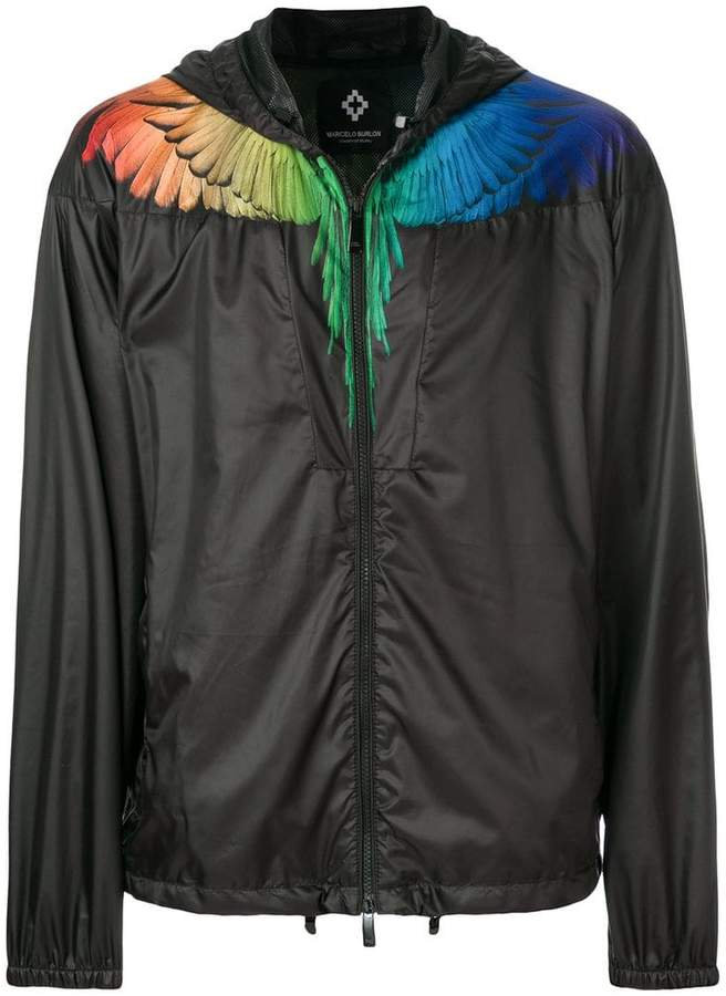 Marcelo Burlon County of Milan Rainbow Wings Windbreaker jacket