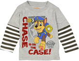 Children's Apparel Network PAW Patrol Gray 'Chase is on the Case' Tee - Toddler