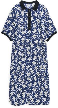 Arket Floral Polo Dress