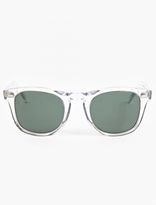Cutler and Gross Crystal '1032' Acetate Sunglasses