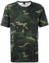 adidas camouflage print T-shirt