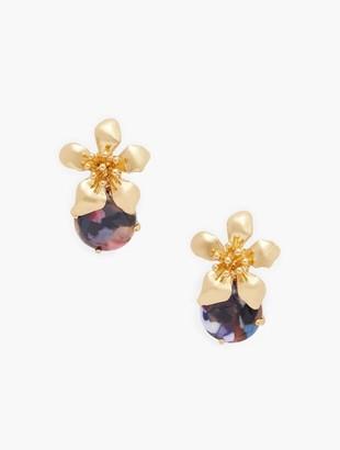 Talbots Fall Flowers Earrings