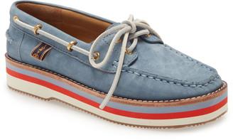 Tory Burch Joey Platform Boat Shoe