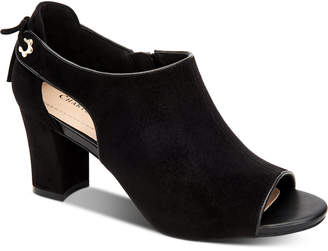 Charter Club Hirah Tie-Back Peep-Toe Heels, Women Shoes