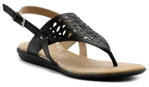 Mootsies Tootsies Women's Cinda Laser Cut Out Thong Sandal Women's Shoes