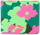Muveil floral print wallet - women - Leather - One Size