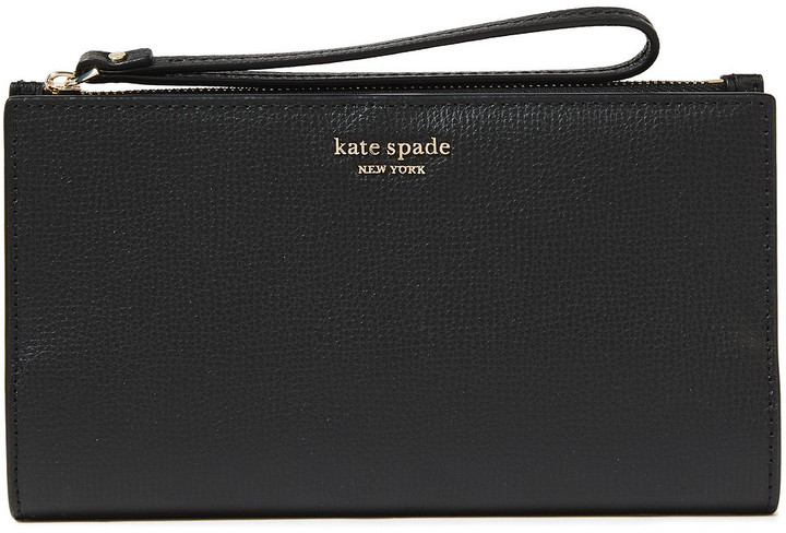 Kate Spade Sylvia Large Textured-leather Continental Wallet