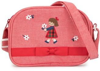 Familiar Printed Bow Detail Shoulder Bag