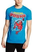 Marvel Comics Men's Spidey Stamp Short Sleeve T-Shirt