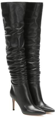Gianvito Rossi Valeria 85 over-the-knee leather boots