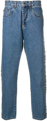 M1992 Side Printed Stripe Jeans