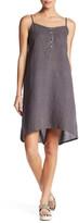 Allen Allen Cami Hi Lo Linen Dress