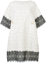Faith Connexion embellished buttons dress - women - Acrylic/Polyamide/Polyester/Wool - S