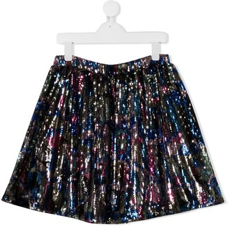 Emilio Pucci Junior TEEN embroidered skirt