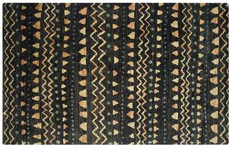 One Kings Lane Ongo Kids' Rug - Black/Gold - 4'x6'