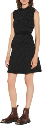 Sandro Sleeveless Knit Mini Dress