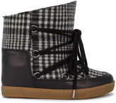Isabel Marant Cut-off snow boots - women - Calf Leather/Sheep Skin/Shearling/Wool - 36