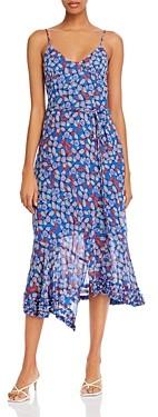 Derek Lam 10 Crosby Leilani Floral Print Slip Dress