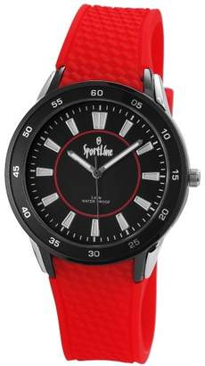 Sportline Ladies Wristwatch Rubber Quartz Analog Sport Line 220821100001