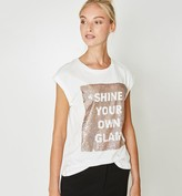Promod Sequinned top