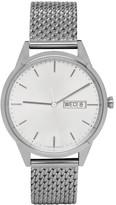 Uniform Wares Silver Mesh C40 Calendar Watch