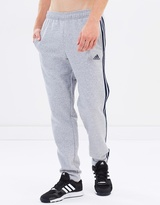 adidas Essential 3-Stripes Fleece Track Pants