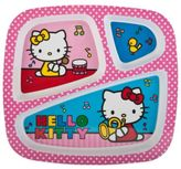 Hello Kitty Zak! Designs Divided Kid's Dinner Plate