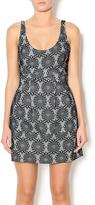 Hazel Black Lace Mini Dress