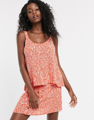 Urban Bliss palm print cami co-ord