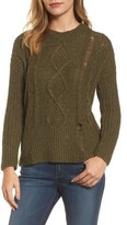 Lucky Brand Women's Portland Cable Sweater