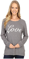 Life is Good Love Slouchy Pullover Sweater
