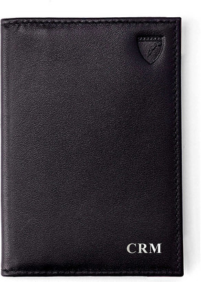 Aspinal of London Double-fold leather card case