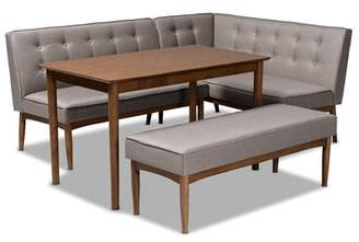 Marvelous Mid Century Dining Set Shopstyle Andrewgaddart Wooden Chair Designs For Living Room Andrewgaddartcom