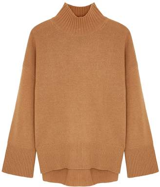 Frame Brown Knitted Cashmere Jumper