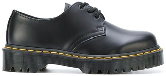 Dr. Martens contrast stitching lace up shoes