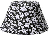 Joe Fresh Women's Floral Bucket Hat, Black (Size O/S)