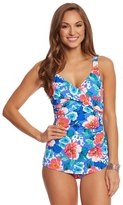 Penbrooke Garden Beauty Cross Over Sarong One Piece 8150432
