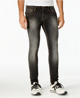 Armani Jeans Men's Slim-Fit Black Stretch Jeans