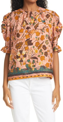 Ulla Johnson Joni Blouse