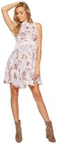 Free People Printed She Moves Slip Women's Dress